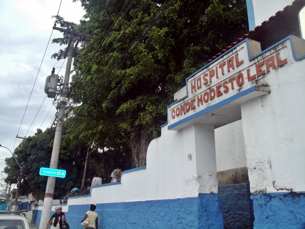 Hospital Municipal Conde Modesto Leal sem condições de atendimento. (Foto: João Henrique | Maricá Info)