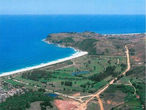 Área onde poderá ser instalado o porto do pré-sal. (Foto: Divulgação)