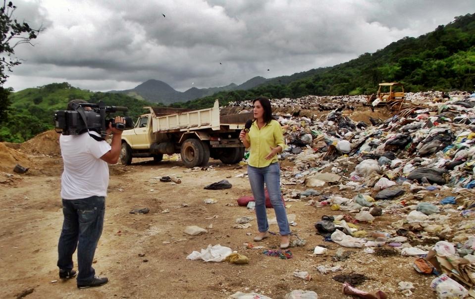 Reportagem da 'Band' mostra descaso com a saúde pública, em Maricá. (Foto: Pery Salgado | Barão de Inoã)