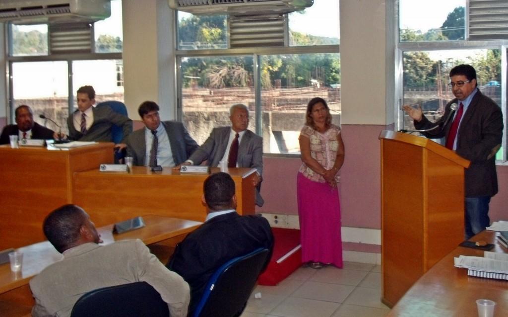 Quaquá participa do início do ano legislativo na Câmara Municipal de Maricá. (Foto: João Henrique | Maricá Info)