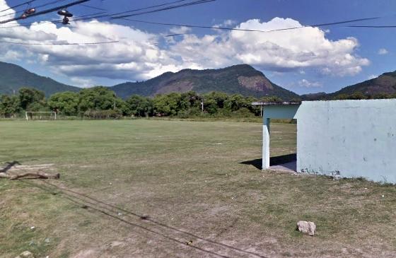 Campo do verdão, em Inoã, está ameaçado de despejo. (Imagem: GSV)