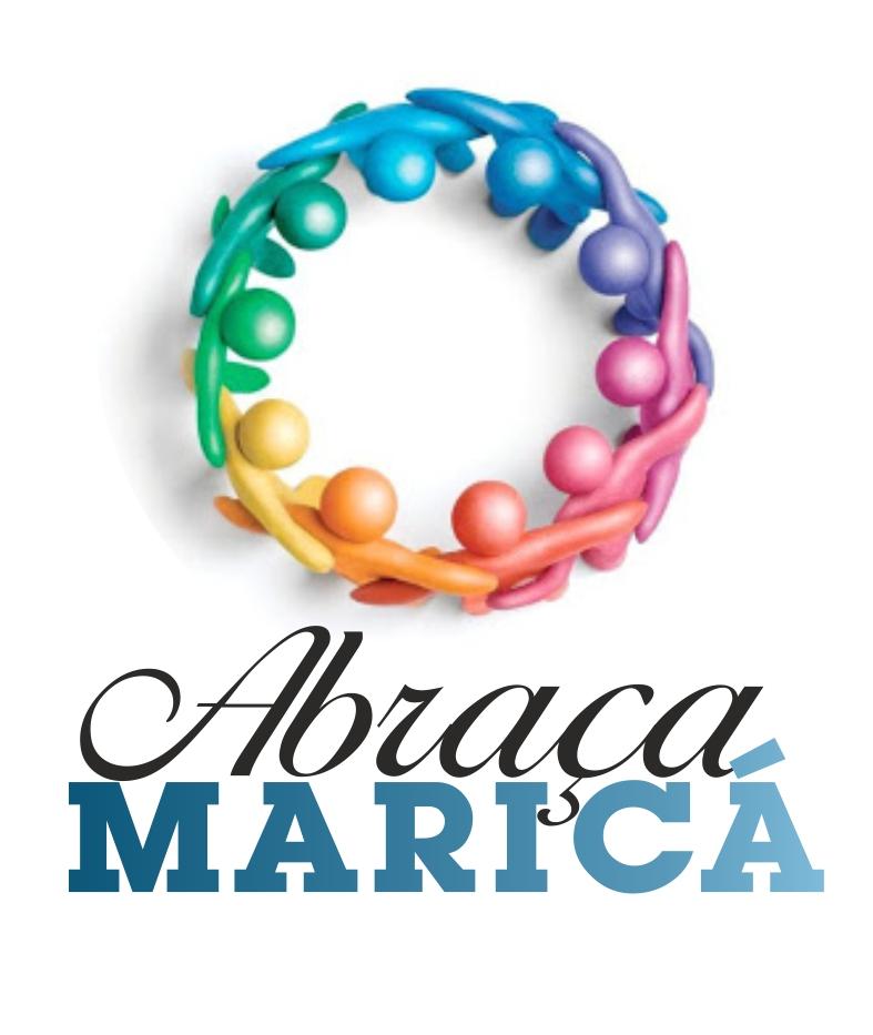 Logo foi criado para divulgar o jogo beneficente em Maricá.