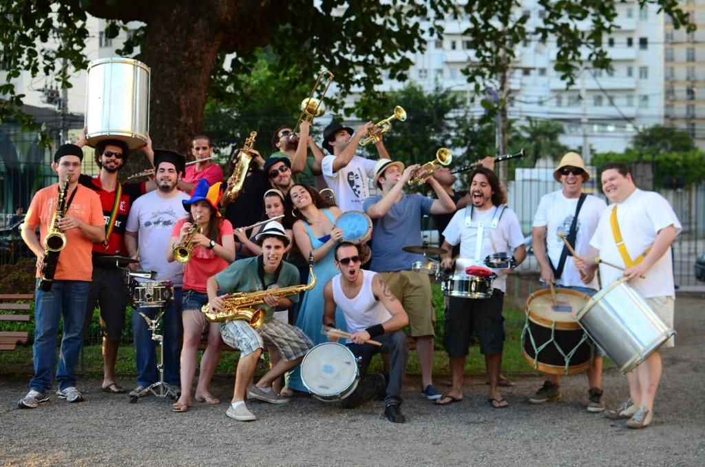 Banda Sinfônica Ambulante agita  Dia do Trabalho em Maricá, RJ. (Foto: Divulgação)