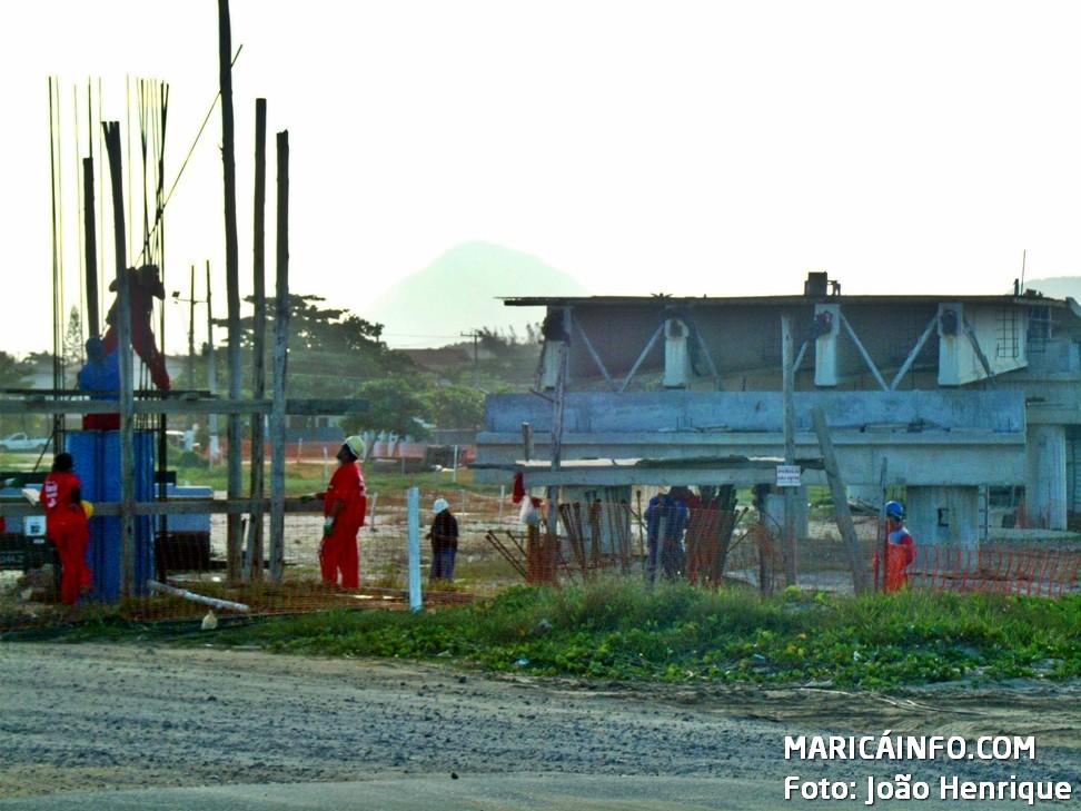 Obra da Ponte da Barra recomeça, em Maricá