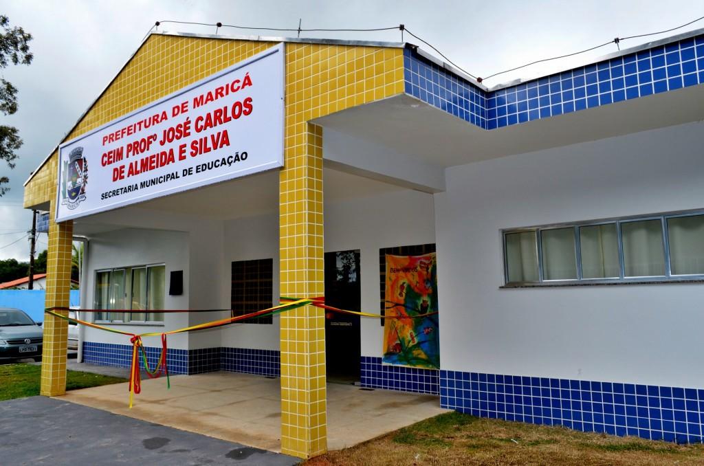 Inaugurada e creche do Bosque Fundo. (Foto: Fernando Silva | PMM)