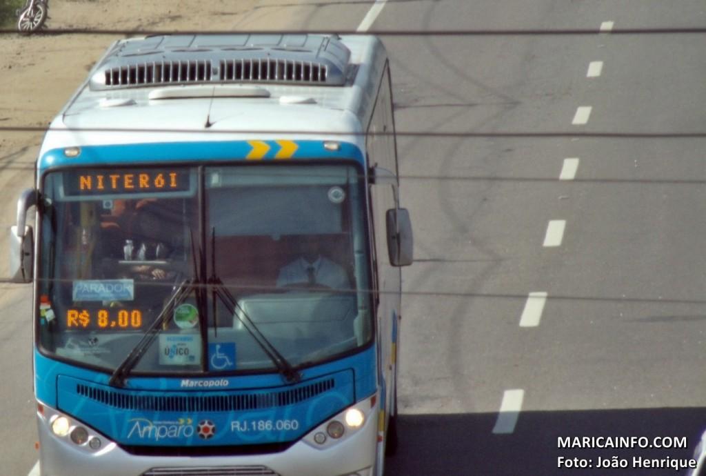 Passagens dos ônibus intermunicipais foram reduzidas nesta quarta-feira (26). (Foto: João Henrique | Maricá Info)
