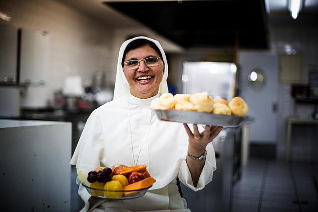 Irmã Terezinha contará com a ajuda de 23 freiras de Maricá. (Foto: Daniel Marenco)