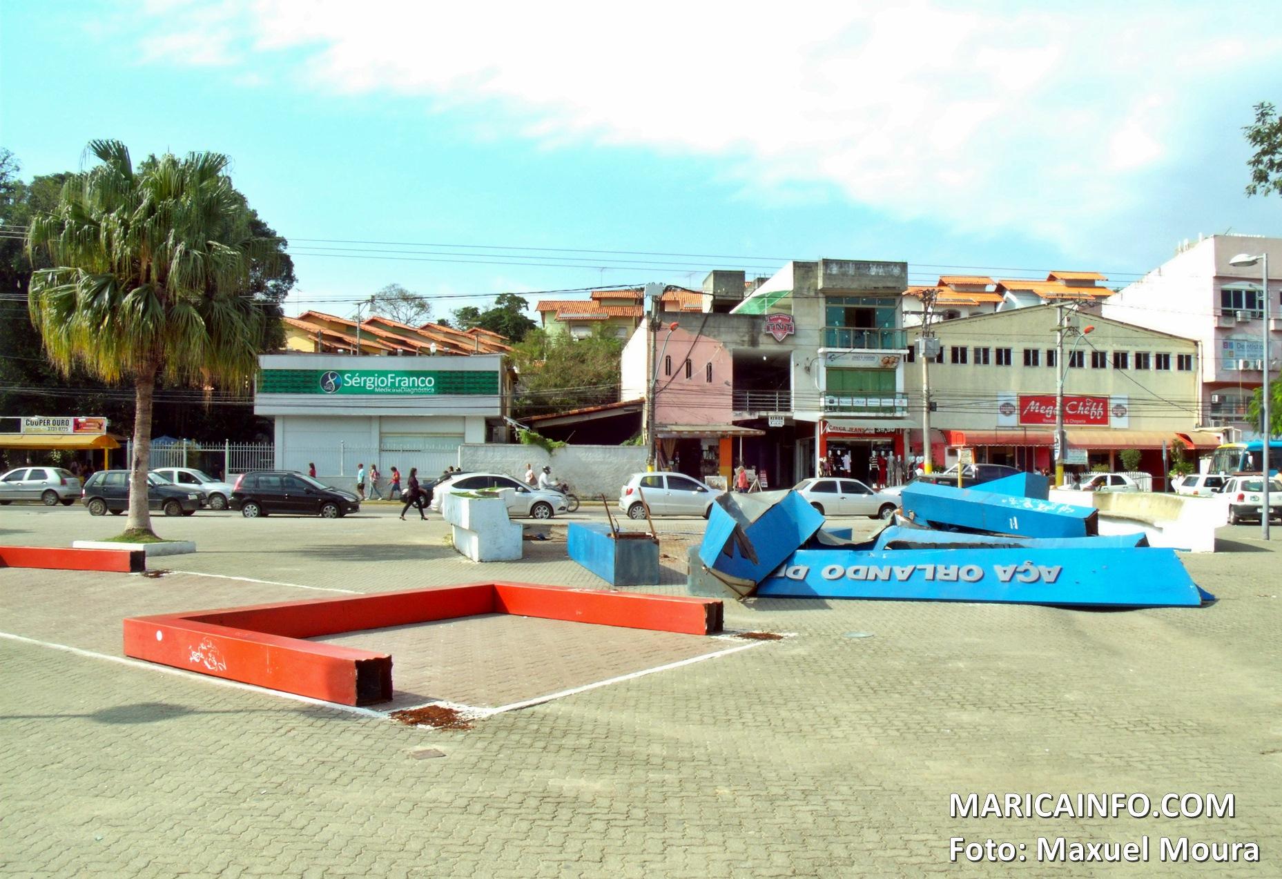 Prefeitura 'remodela' praça Orlando de Barros Pimentel, no Centro