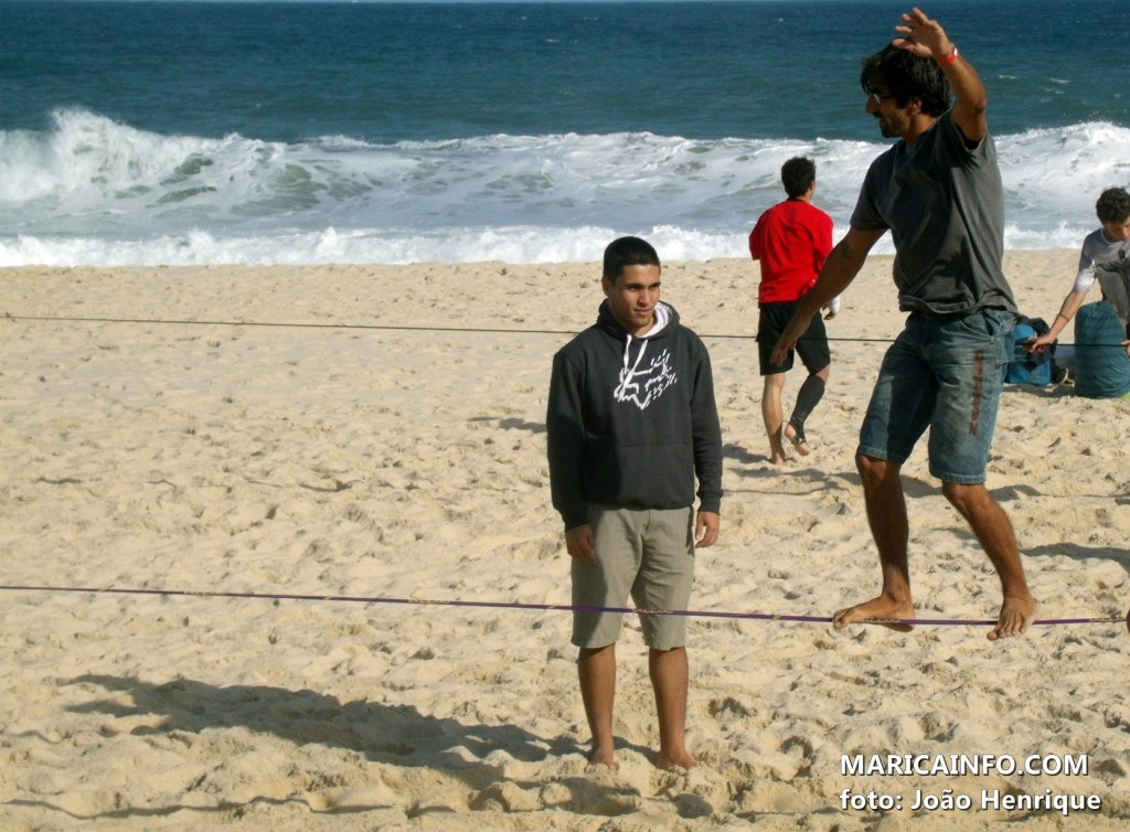 Um dos precursores do esporte no Brasil, Daniel Olho marcou presença no evento. (Foto: João Henrique | Maricá Info)