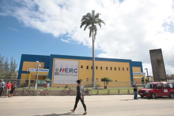 Hospital Estadual Roberto Chabo, em Araruama. (Foto: Reprodução | Gov RJ)