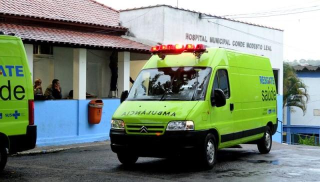 Ambulâncias foram doadas pelo Governo do Estado para o Hospital de Maricá. (Foto: Fernando Silva | PMM)