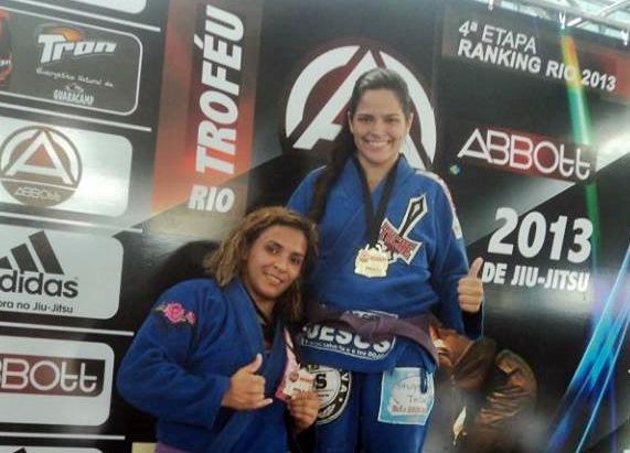 Mariane Nunes levou a medalha de ouro na 4ª etapa Ranking Rio 2013. (Foto: Divulgação)