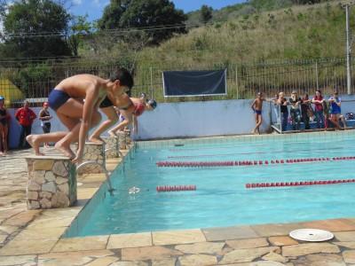 Jogos Estudantis 2013 - Natação. (Foto: CMJ)