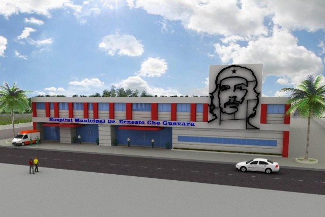 Projeto do novo hospital municipal Dr. Ernesto Che Guevara. (