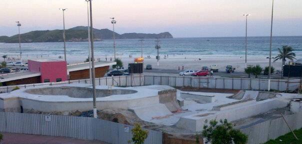 Skate Park foi inaugurado a menos de um ano e custou cerca de R$180 mil. (Foto: Reprodução | Internet)