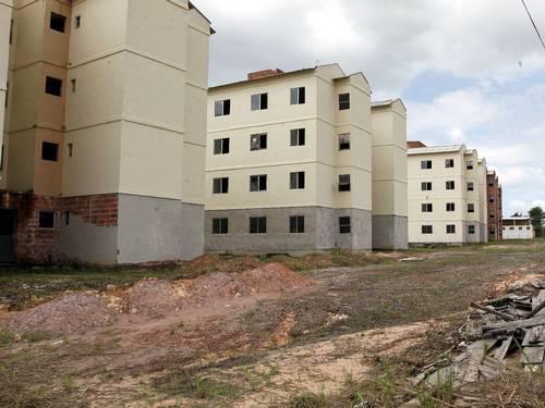 Obras do PAC estão paradas há dois anos. (Foto: Cezar Loureiro | O Globo)