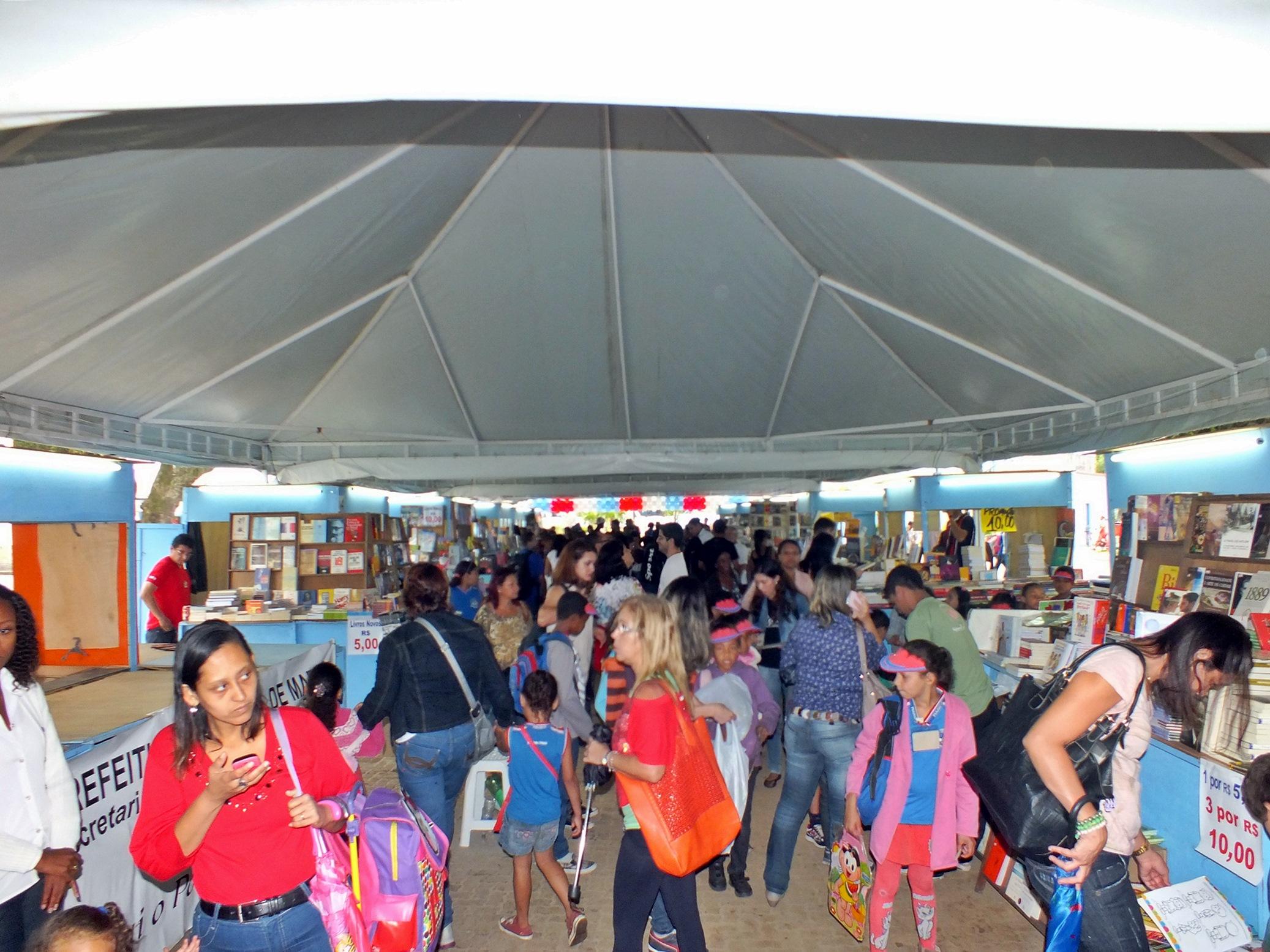 Festa Literária de Maricá foi aberta oficialmente nesta quarta-feira (16). (Foto: João Henrique | Maricá Info)