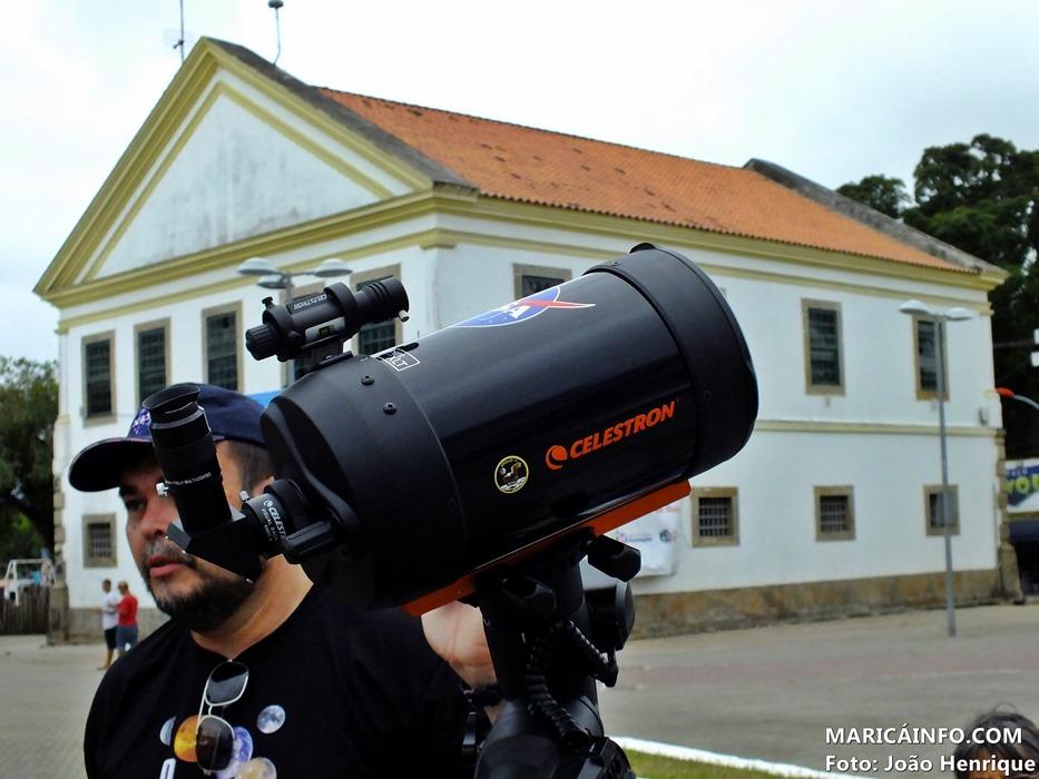 Maricá volta a receber evento de astronomia nesta terça-feira