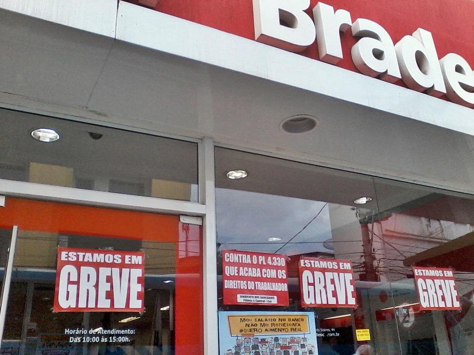 Bancários aceitam proposta da Fenaban de 8,5% e devem acabar a greve. (Foto: João Henrique | Maricá Info)