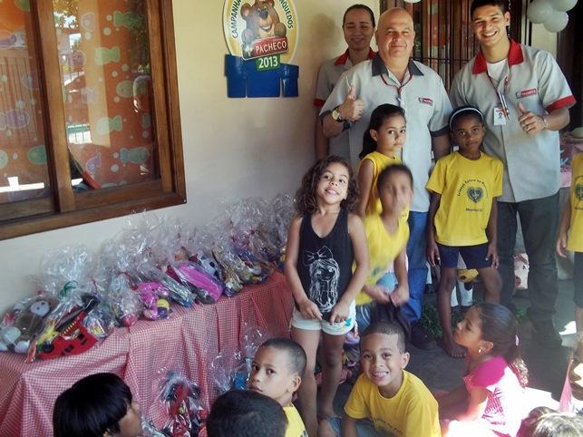 LBV realizou festa em homenagem às Crianças. (Foto: Divulgação   LBV)