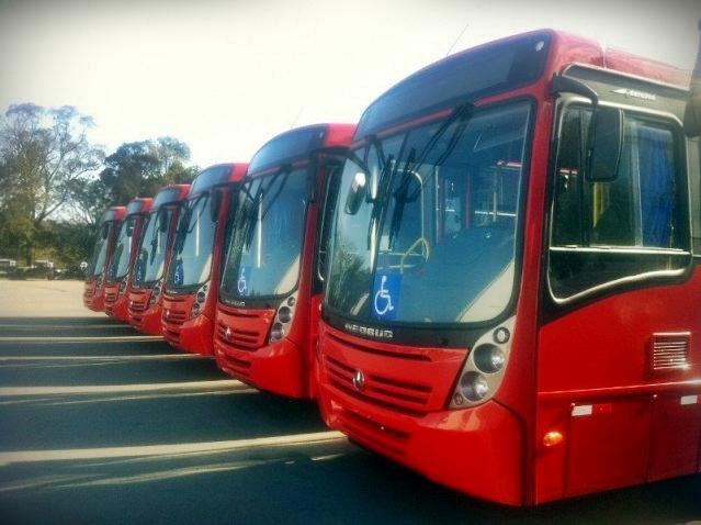 Ônibus já estão quase prontos para entrar em circulação. (Foto: Divulgação)