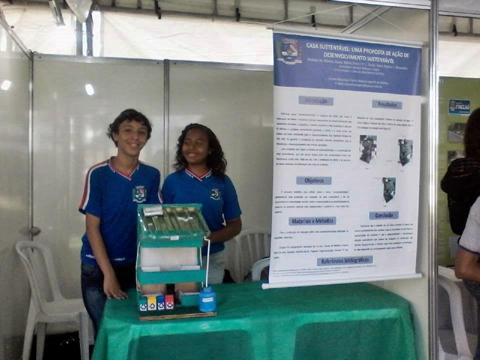 Estudantes de Maricá participam de feira de ciências no RJ