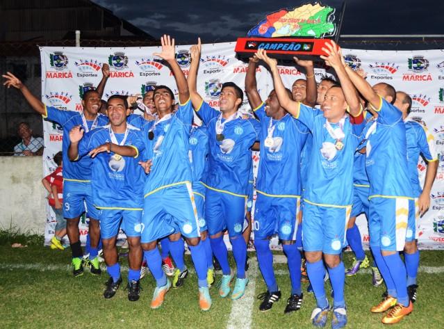 Amparo conquista título da Taça Cidade de Maricá