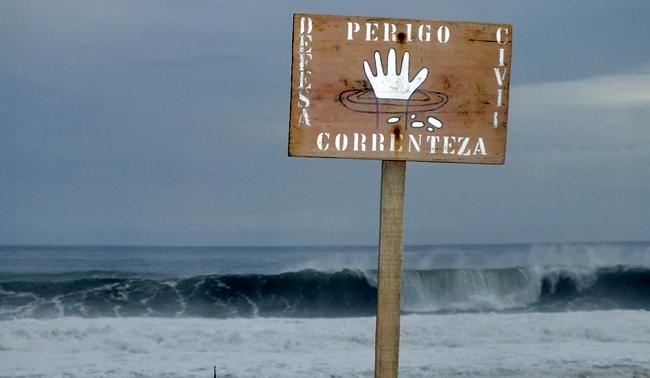 Marinha emite novo alerta de ressaca para o litoral de Maricá