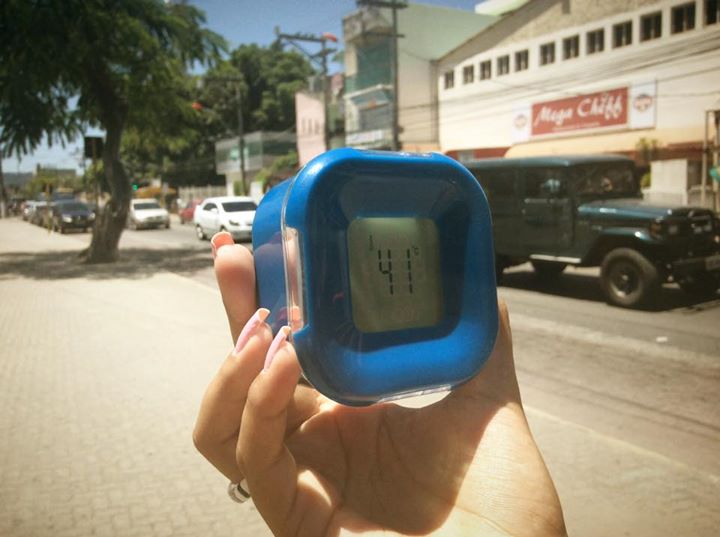 Sensação térmica acima dos 40ºC em Maricá