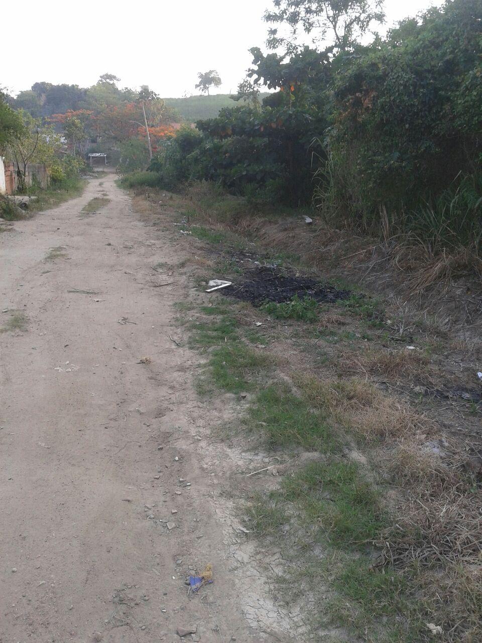 Rua 18, Nova Lusitânia em Santa Paula, que consta como asfaltada.