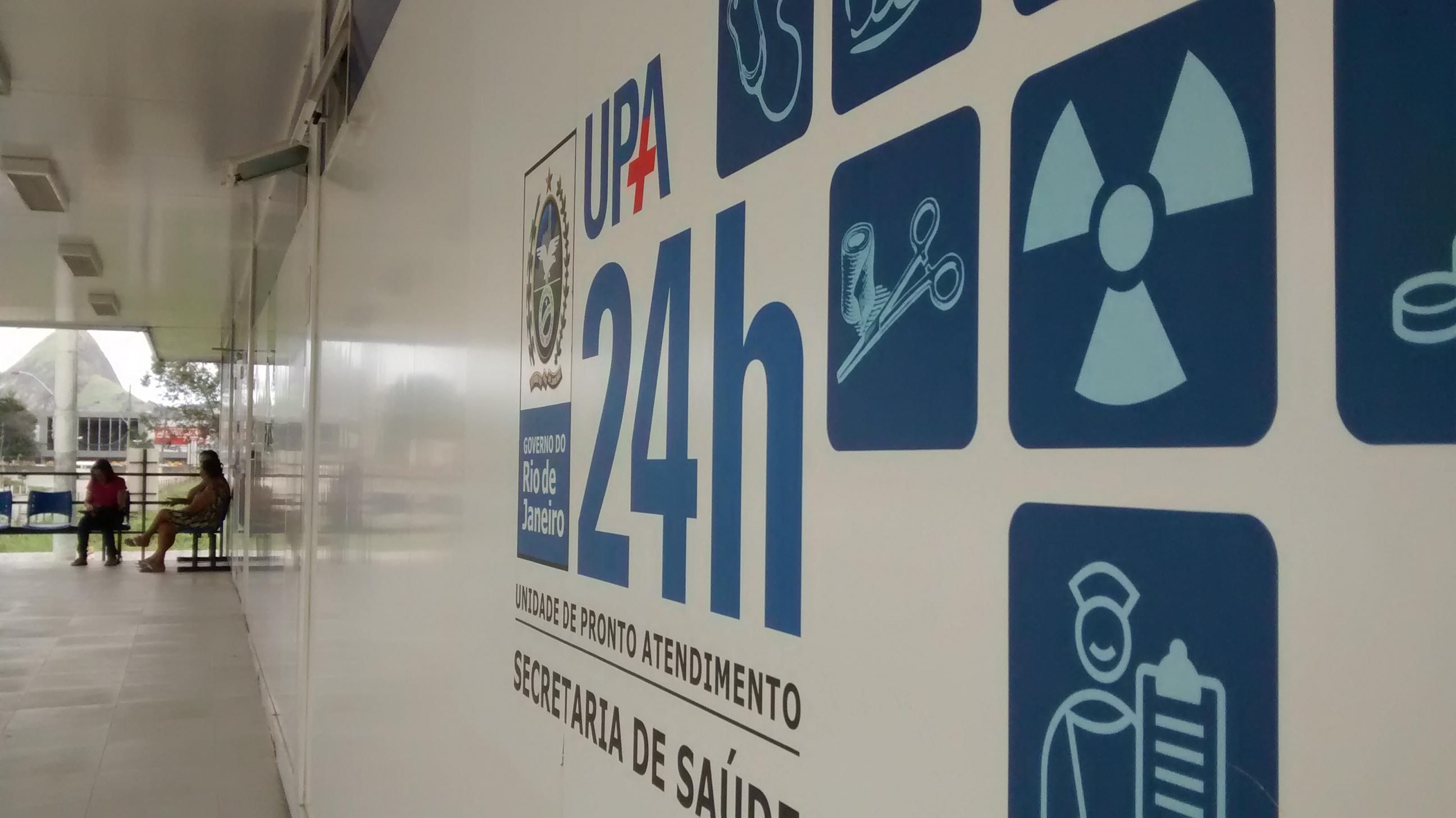 UPA de Inoã sem pediatras na manhã desta segunda-feira (27) - foto: João Henrique | Maricá Info)