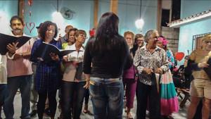 Coral encantou o público presente ao 'Boteco do Nair'.