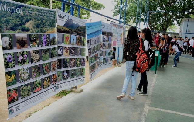 Evento contou com atividades e jogos de quebra-cabeça, perguntas e respostas, jogo da memória e exibição de trabalhos realizados pelos alunos. (foto: Clarildo Menezes)