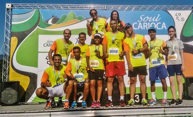 Equipe Caveiras Running de Maricá se destaca no Circuito Soul Carioca
