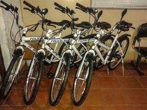 Bicicletas serão utilizadas no patrulhamento ostensivo em Maricá. (foto: Mauro Luis / Maricá Info)
