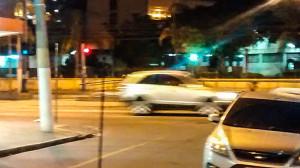 Clima de tensão na Alameda São Boaventura, em Niterói.