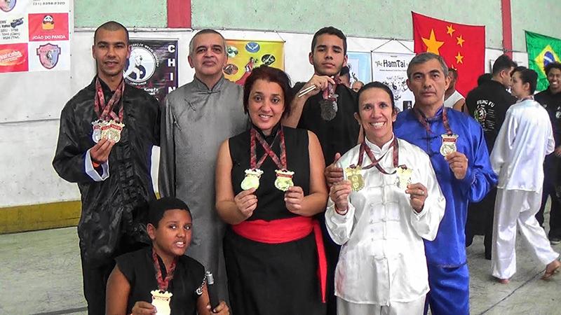 Atletas de Maricá conquistam medalhas em campeonato de Kung Fu e Tai Chi Chuan em Minas Gerais