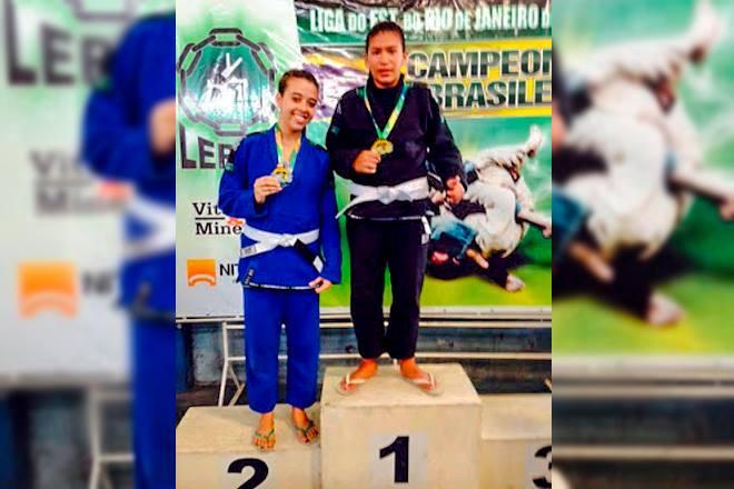 Atleta de Ponta Negra conquista medalha de Ouro em campeonato de Jiu-Jitsu
