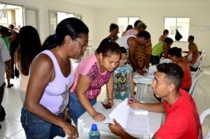 Em processo democrático e transparente, moradores votaram nos candidatos