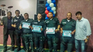 Equipes do Patamo receberam homenagem.