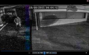 Homem é flagrado furtão botijão de gás.