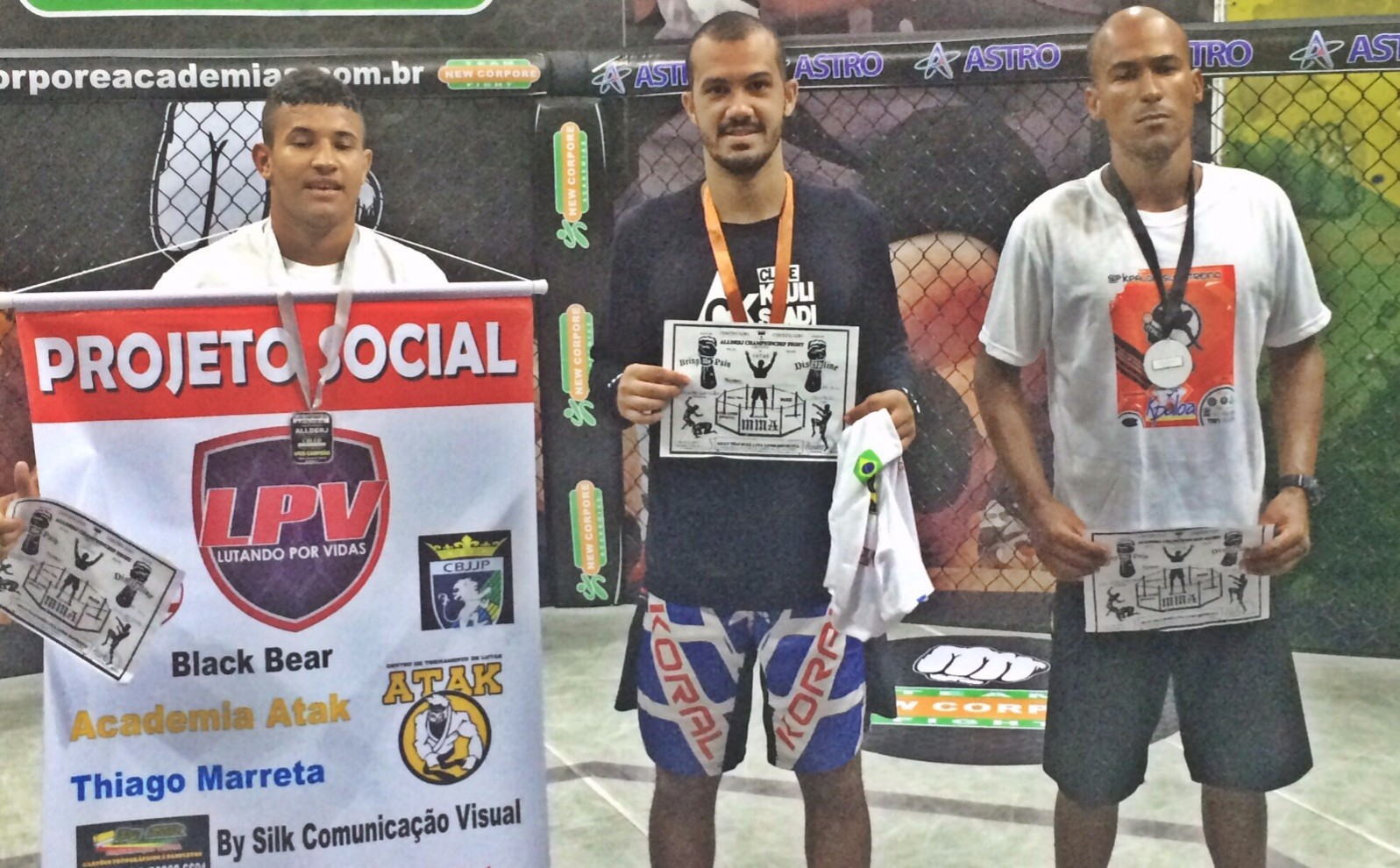 Itaipuaçu: Atleta de Luta Livre vence campeonato representando paróquia
