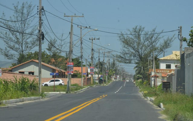 Maricá: Avenida Maysa já tem trechos prontos e outros em obras