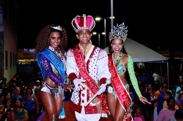 Maricá reelege Rei Momo e tem nova Rainha do carnaval