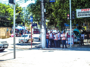 Orientadores estão em período de treinamento. (foto: João Henrique / Maricá Info)