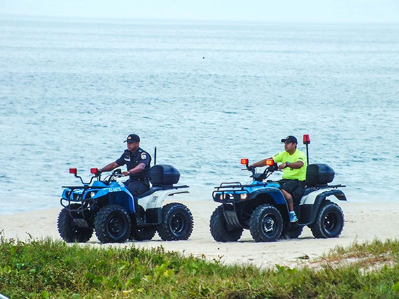 Quadriciclos irão agilizar policiamento nas praias. (Foto: João Henrique / Maricá Info)