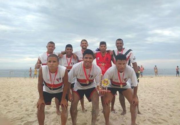 Maricá: Ponta Negra é campeão no Beach Soccer dos Jogos de Verão