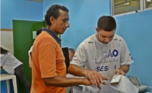 Ação contou com diversos serviços oferecidos à população. (foto: Fernando Silva)