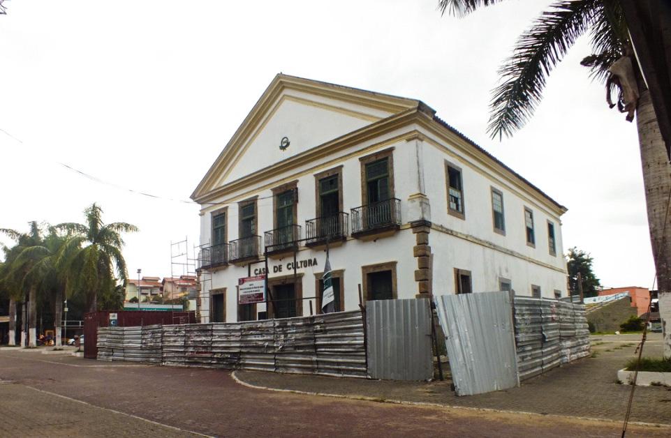 Maricá: Obras atrasadas há quase um ano na Casa de Cultura
