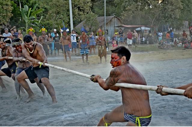Jornada Esportiva e Cultural Indígena reúne índios de vários estados em Maricá
